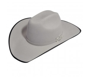Bailey 5X Fur Felt Alton Western Hat - Silver Belly - 7 3/8 (L)