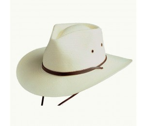 Conner Soft Toyo Chin Strap Western Hat