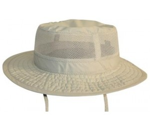 Conner Mesh Crown Boonie - Natural Putty - L